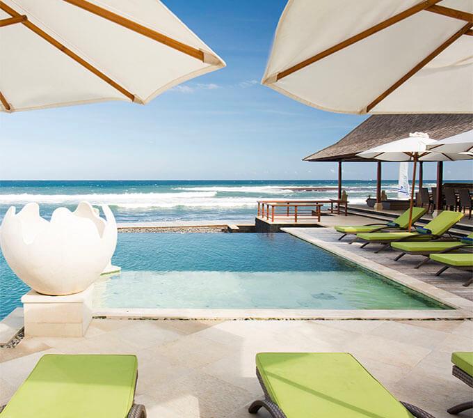 Villa Bayu Gita Beachfront - Ocean view
